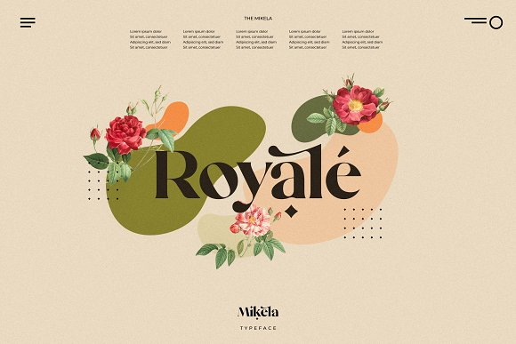 Mikela - 50% OFF Gorgeous Typefaces in Serif Fonts - product preview 22