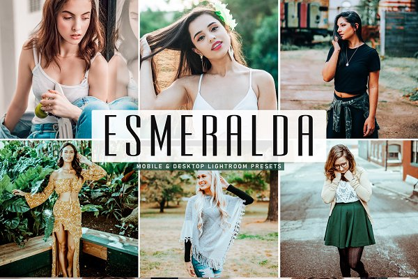 Esmeralda Lightroom Presets Pack