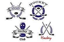 Hockey Club and team emblems