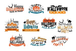 Different party Halloween designs