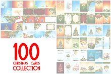 100 Christmas Cards Collection