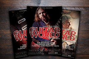 Guitar World Concert Flyer