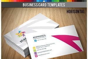 Premium Business Card - Star Spin v2