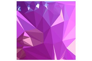 Light Medium Orchid Purple Abstract