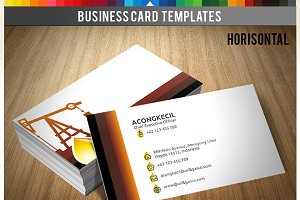 Premium Business Card - Oil & Gas Co