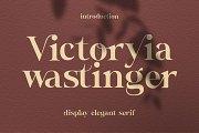 Victoryia Wastinger Elegant Display
