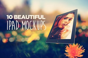 10 Beautiful Ipad Mockups