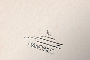 Mandinus Boat Logo Template