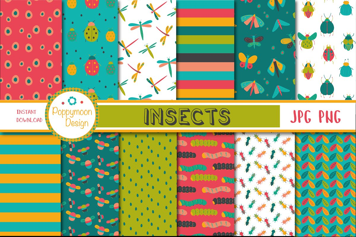Insects pack in Objects - product preview 2