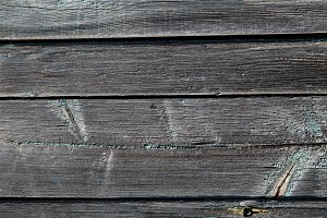 old dark grey planks background