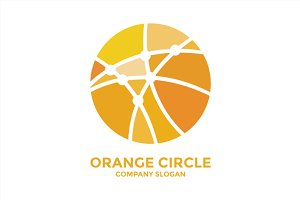 Orange Circle Logo