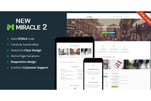New Miracle - Responsive HTML5 Theme