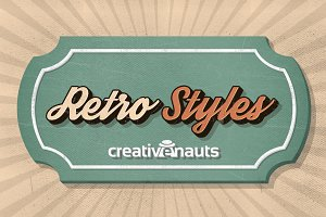 Retro Styles for Adobe Photoshop