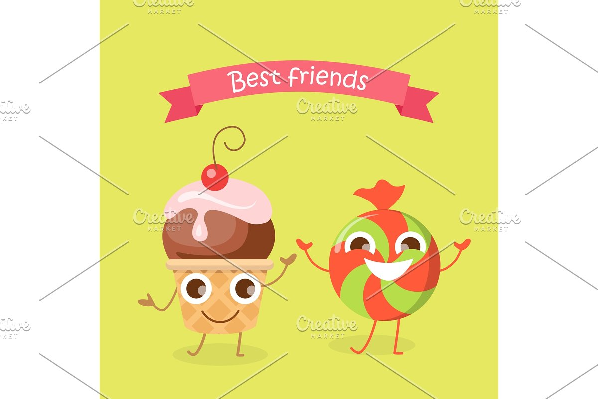 Best Friends Caramel Candy and
