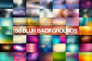 50 Blur Backgrounds _ Vol.03