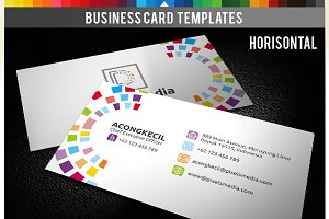 Premium Business Card - Pixels Media