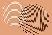 400 Vector Halftone Circles   Vol. 2