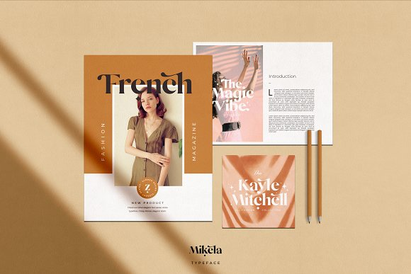 Mikela - 50% OFF Gorgeous Typefaces in Serif Fonts - product preview 27