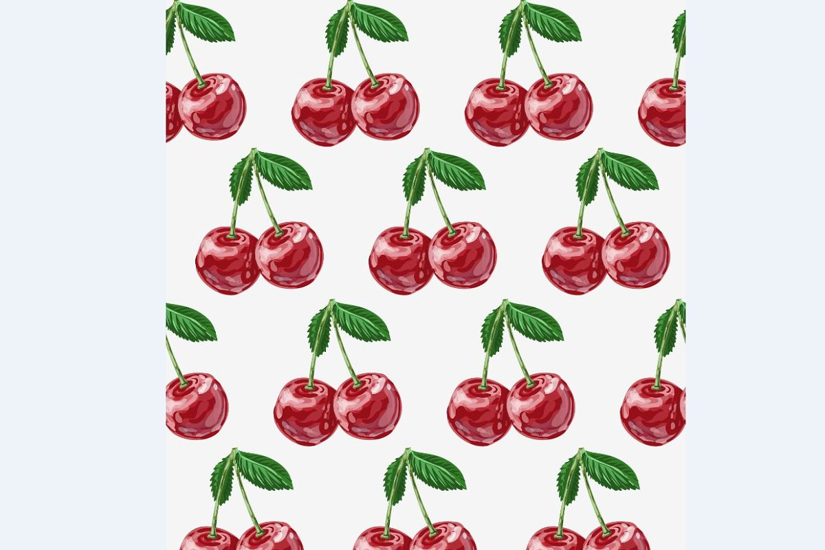 Cherry vector set