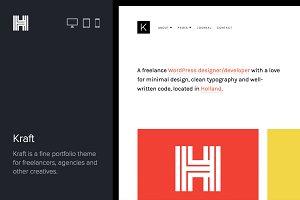 Kraft - Portfolio WordPres Theme