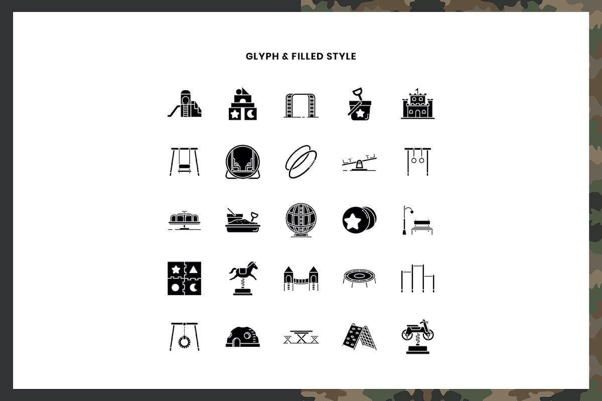 Playground Icons Pack