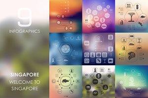 9 Singapore infographics