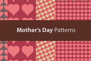 Mother's Day Patterns (and Assets)