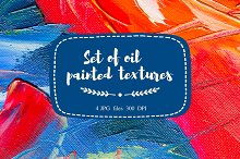 Set of oil panted textures # 2