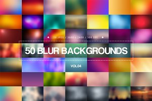 50 Blur Backgrounds _ Vol.04