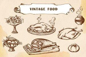 Vintage food