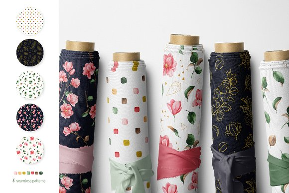 Magnolia.Gentle Floral Collection in Illustrations - product preview 4