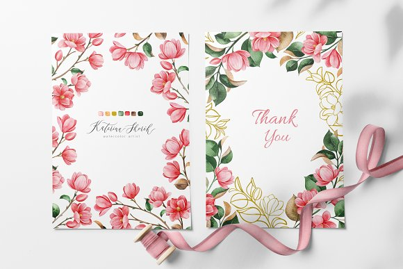 Magnolia.Gentle Floral Collection in Illustrations - product preview 7