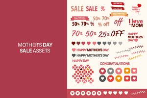 Mother's Day Patterns Sale Assets