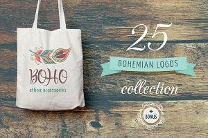 Bohemian Logos bundle + BONUS