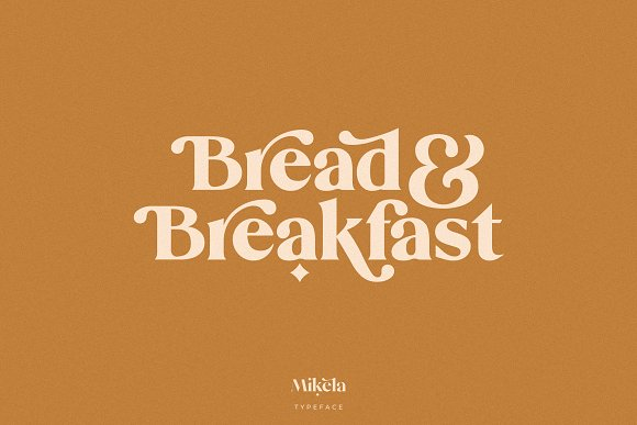 Mikela - 50% OFF Gorgeous Typefaces in Serif Fonts - product preview 29