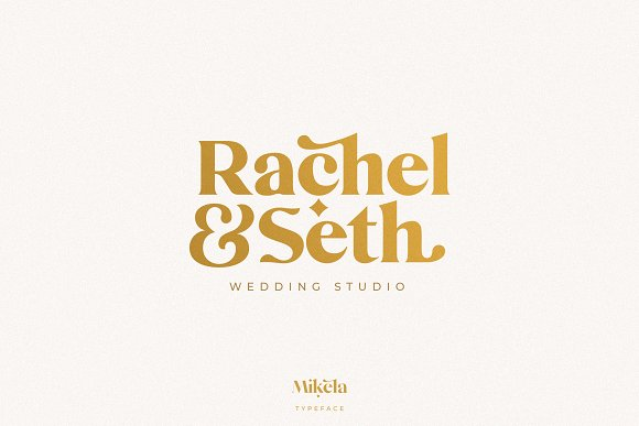 Mikela - 50% OFF Gorgeous Typefaces in Serif Fonts - product preview 30