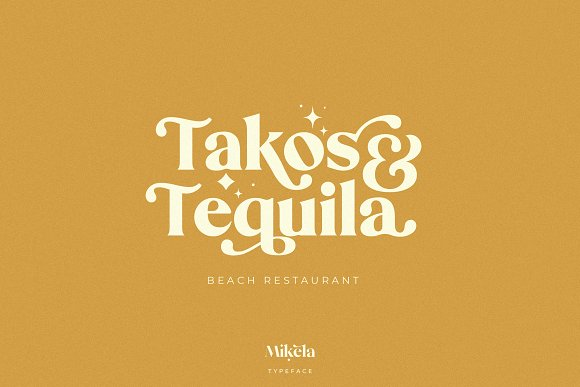 Mikela - 50% OFF Gorgeous Typefaces in Serif Fonts - product preview 31