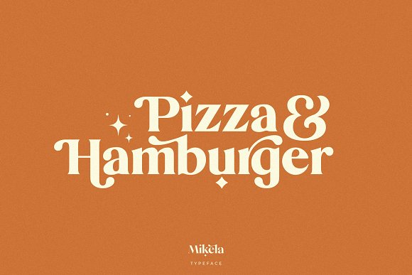 Mikela - 50% OFF Gorgeous Typefaces in Serif Fonts - product preview 32