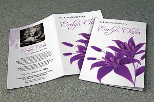 Funeral Program Template-V276