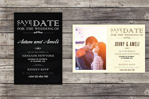 Save The Date Invitation Cards