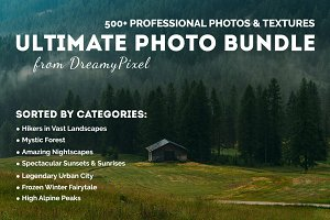Ultimate Photo Bundle - 500+ Images