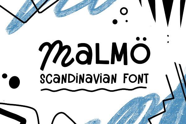 Malmo - Scandinavian duo Font