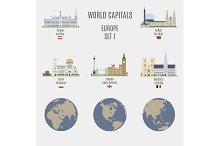 World capitals. Europe # 1