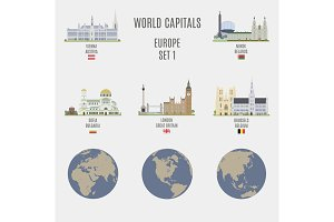 World capitals. Europe # 1