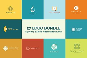 27 Geometric Logo Templates