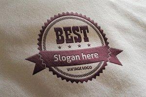 Best Vintage Logo
