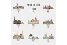 World capitals. Europe # 2