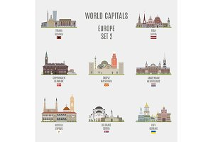 World capitals. Europe # 2