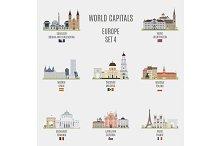 World capitals. Europe # 4