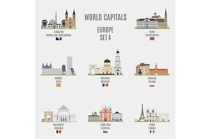 World capitals. Europe # 4